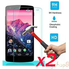 2x Genuine 9H Premium Tempered Glass Screen Protector Film For LG Google Nexus 5