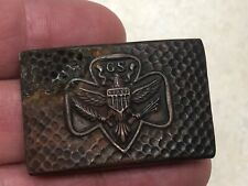 Vintage Girl Scout Belt Buckle