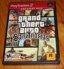 Grand Theft Auto San Andreas Sony Playstation 2 PS2 Complete
