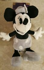 Steamboat Minnie Black And White Plush Authentic Disney Parks