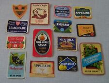 More details for 14 very  rare south kent antique  mineral water labels hythe &  folkestone