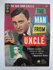 The Man from U.N.C.L.E. #4 (Jan 1966, Gold Key / Western) [FN 6.0]