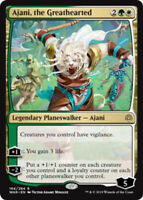 Ajani, the Greathearted - Foil x1 Magic the Gathering 1x War of the Spark mtg ca