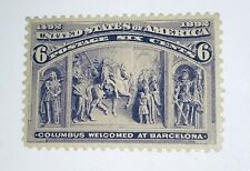 US Stamps #235 MNH Columbus Expo 6c XF* GREAT CENTERING!!