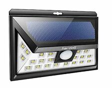 Hardoll® 24 LED Waterproof Solar Motion Sensor Light for Home Garde mAn Outdoor