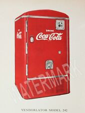 Coke Coca Cola Vendo 242 Machine High Quality Metal Fridge Magnet 3x4 9887