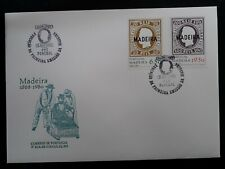 1980 Madeira (Portugal) 112th Anniv of 1st Azores stamps Fdc ties 2 stamps