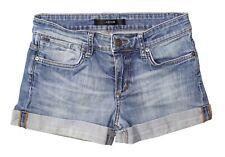 "Women's Joe's Jeans ""Loose Rolled Shorts"" Medium Blue Vintage Wash Size 24"