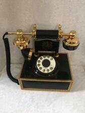 Vintage Deco Tel Rotary French Phone Pacific Telephone and Telegraph Co.