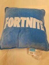 NEW Fortnite Logo Kids' Throw Pillow - Blue 14 x 14