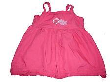 C & A tolles Kleid Gr. 68 rosa mit Meerestiermotiven !!