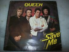 """7"""" Single P/S 45 - QUEEN - SAVE ME - 1980 - BRAZIL"""