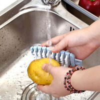 Potato Radish Vegetable Fruit Cleaning Brush Tool Home Kitchen Accessories S