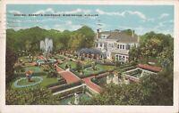 Birmingham, ALABAMA - Garden, Massey's Residence - BIRDSEYE - 1929