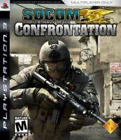 SOCOM: U.S. Navy SEALs Confrontation (Sony PlayStation 3, 2008) complete