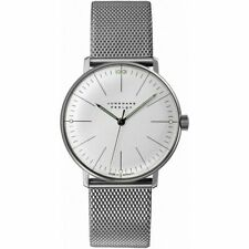 Junghans Unisex Max Bill 34mm Hand Winding 027/3004.44.M NEW