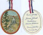 Insigne de journées 1914/1918 - Journée nationale tuberculeux soldat montagne