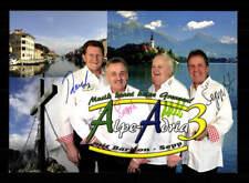 Alpe Adria Autogrammkarte Original Signiert ## Bc 122708 Original, Nicht Zertifiziert