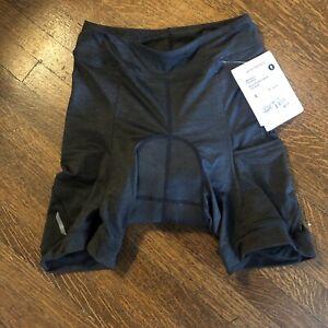 "NWT BONTRAGER Women's KALIA Padded Shorts • 8"" Inseam • Small or Large • Black"