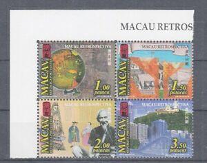 Macao 1057 - 60 Zd Portugais Gestion (MNH)