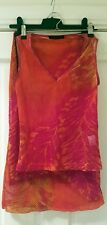 Gorgeous GEORGE DESIGNER vintage matching skirt and top set- Size 8- NEVER WORN