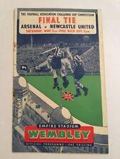 FA Cup Final Arsenal V Newcastle UTD 03/05/1952