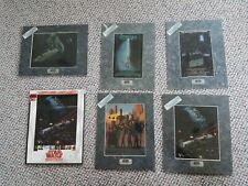 Star Wars Chromart Chrome Art Prints w/ COAs and Trilogy Movie Cards 1993 1994