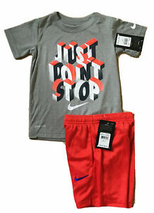 NWT NIKE or DRI-FIT 2PC SETS, T-Shirt or Tank w/Shorts, Sizes 4, 5, 6, 7