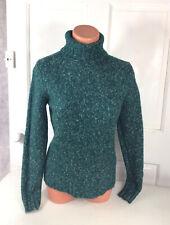 LL BEAN Wool Turtleneck Sweater Womens Small