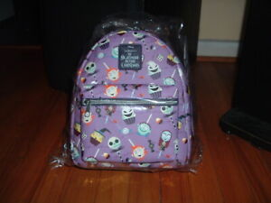 LOUNGEFLY NIGHTMARE BEFORE CHRISTMAS MINI BACKPACK~ WITH TAGS~BRAND NEW~