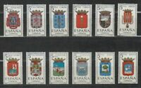 SPAIN  (1963 ) MNH COMPLETE SET - SC SCOTT 1057/68 PROVINCIAL ARMS