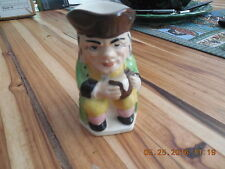 "Keele Street Pottery KSP Seated Toby Mug Jug English Tricorn Hat  4"" Tall"
