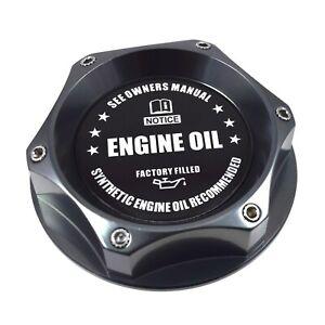 New Gunmetal Engine Oil Filler Cap For Nissan Infiniti Nismo GTR 350z 370z 240SX