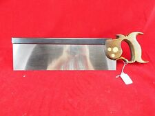 "Armitage London 14"", 14 PPI Cross Cut Back Saw, New 1095 Saw Plate, (inv1177)"