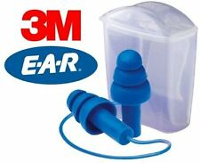 3M EAR TR-01-100 Ultrafit TRACER CORDED Ear Plugs Blue Metal Detectable 1 Pair