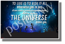 To Live is to Risk it All 1 - NEW Funny Rick & Morty POSTER (hu446)
