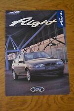 Vintage 1997 Ford Fiesta Flight Promotional Sales Brochure