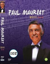 PAUL MAURIAT Collection (5DVD,New,All,Sealed) Classical Music DVD