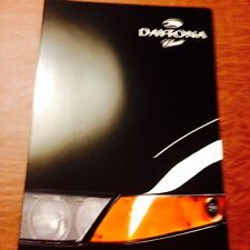 MIAMI VICE Ferrari Daytona PRECISION MOTOR WORKS KIT/REPLICACAR MAGAZINEBROCHURE