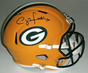 PACKERS Clay Matthews signed full size Speed Rep helmet JSA COA AUTO Autographed