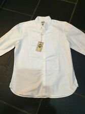 BNWT White Laundered Cotton Shirt XL Next RRP £32