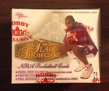 1999-2000 Flair Showcase Basketball Hobby box NBA