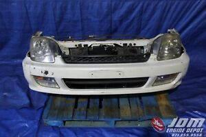 97 01 HONDA PRELUDE BB6 SIR TYPE-S WHITE FRONT NOSE CUT CONVERSION JDM H22A #160