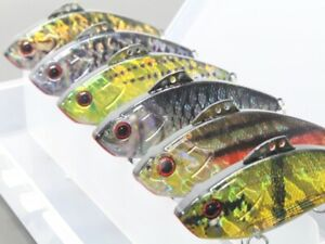 Lipless Fishing Lures Crankbait Bass Sinking Tight Wobble Lifelike HL773KB