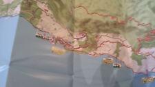 Kroatien Dalmatien Makarska Rivera Radfahrkarte Touren Routen Beschreibung
