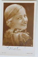 30073 Ross Foto Ak Nr. 5503/1 Lien Deyers Autografo Autografata Ufa Stumm-Film