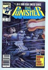 Punisher Limited 1 - Newsstand - Zeck Classic Cover - High Grade 8.0 VF