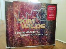 Kim Wilde It's Alright Signed Rare CD Single