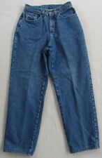 L.L. Bean Women's Double L Relaxed Fit Straight Leg Soft Lined Jeans - Size 8MT