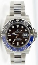 Rolex GMT Master II Batman 116710BLNR Stainless Steel Black/Blue Ceramic Bezel